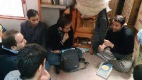 گروه مطالعات تاریخ اسلام  با سرگروهی برادر محمد سپهر –  پسا ترم ۱۴ انوارالزهرا سلام الله علیها ۲۴ آبان ۹۶