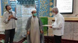 خاطره گویی  و تقدیر از حاج آقای شریفی آزاده و رزمنده پیشکسوت دفاع مقدس