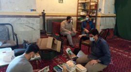 نشست رابطان کمیسیون های تخصصی جلسات قرآن و عترت جوانان انوارالزهرا سلام الله علیها کتاب های اهدایی