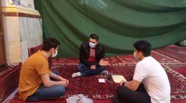 نشست رابطان سرمایه های انسانی جلسات قرآن و عترت جوانان انوارالزهرا سلام الله علیها