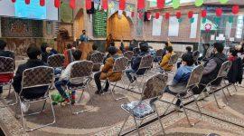 جشن نوجوانانه مبعث و پایان ترم دوره بیستم تعلیم و تربیت مقطع نوجوانان انوارالزهرا سلام الله علیها