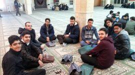 اجرای سرود انقلاب با دعوت دبیرخانه کانون های فرهنگی هنری مساجد همدان