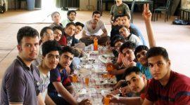 اردوی یک روز و نیم جوانان در اردوگاه باقریه تویسرکان برگزار شد