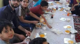برگزاری ارودی ویژه نونهالان اردوگاه ابوذر