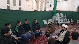 گروه مربیان و مدیران کمیسیون های نونهالان انوارالزهرا سلام الله علیها با حضور حجه الاسلام حمیدرضا طالقانی