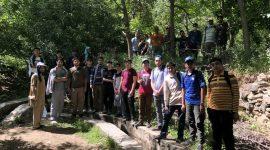 کوهنوردی گروه جوانان