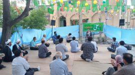 برپایی جشن عید غدیر توسط اعضای کانون و جلسه قرآن شهید مطهری (ره) همراه با کمک همسایگان متدین محل